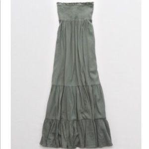 American Eagle strapless maxi dress